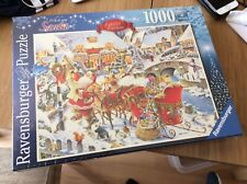 Ravensburger WHICH WAY SANTA? 1000 Piece Christmas Jigsaw Puzzle Limited Edition