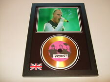 THE PRODIGY  SIGNED  GOLD CD  DISC  1