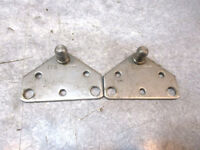 """TRANSOM SUPPORT PLATE Holes 10/"""" OC 12/"""" x 2/"""" Lower Bolt Holes"""