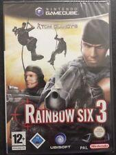 Nintendo GameCube Cube WII Tom Clancy's Rainbow Six 3: Raven Shield NUOVO