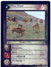 Lord Of The Rings CCG Card BohD 5.R50 Foul Horde