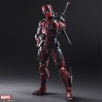 "Play Arts Kai PA Deadpool Action Figure Model Doll New Marvel PVC 10"" Statue Toy"