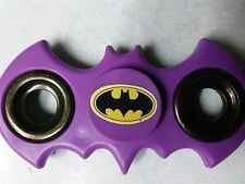 Batman Batarang Fidget Spinner Purple w/ batman logo sticker Free Shipping USA