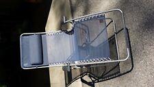 Lafuma Futura Zero Gravity Chair, Silver Steel Frame, Navy