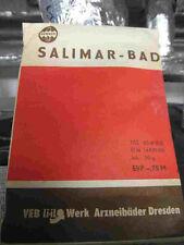 Dachbodenfund DDR  Badezusatz SALIMAR (Salizyl-Humussäurebad)