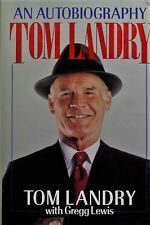 An Autobiography Tom Landry - HC w/DJ 1990 - Dallas Cowboys