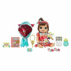 Baby Alive Once Upon a Baby: FOREST TALES LUNA BRUNETTE HAIR NEW in Box