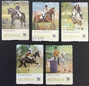2014 Equestrian Events P/S Used Set From Bulk Estate