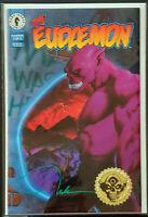 EUDAEMON #1 NM- GOLD FOIL VARIANT Signed by Nelson 1993 Dark Horse Comics
