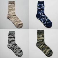 Men Women Warm Casual Cotton Socks Camouflage Military Camo Sport Socks