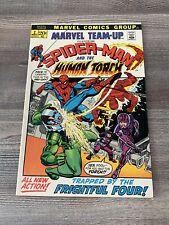 Marvel Team-up 2 1971 Human Torch Spider-man Frightful four 1 Owner VF