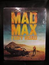 Mad Max Fury Road Black & Chrome + 4K Blu-Ray Steelbook HDZeta Exclusive New