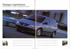 Chrysler Voyager & Grand Voyager 1997-98 UK Market Sales Brochure 2.0 3.3 SE LE