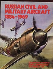 RUSSIAN CIVIL AND MILITARY AIRCRAFT 1884-1969, Nowarra & Duval, 1st, HBdj VG