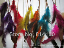 Fashion Bohemian red indian Women Girls Feather Clips 14 inch in Hair Extensions