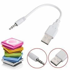 3.5mm Jack USB Charger Data Cable For PC iPod Shuffle 3G 2nd 3rd 4th 5th 6th