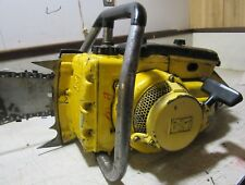 """VINTAGE COLLECTIBLE MCCULLOCH 650G CHAINSAW WITH 26"""" BAR"""