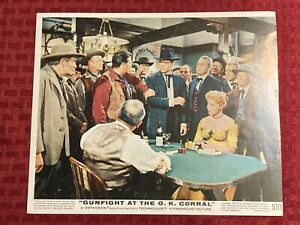 Gunfight At The OK Corral Lobby Card Press Photo Movie Still 8x10 Photo 1957