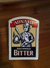 Adnams Southwold Bitter beer metal pump clip