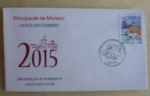 2015 MONACO ROLEX TENNIS MASTERS FDC FIRST DAY COVER