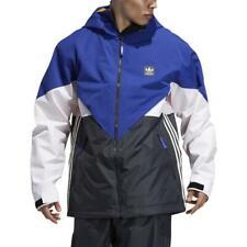 2020 Adidas Premiere Riding Jacket Active Blue/Carbon/Cream XSmall