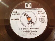 DONOVAN - 1968 Vinyl 45rpm 7-Single 4-track EP - MINI MONSTER