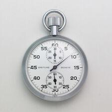 RARE NOS Breitling Ref. 1528 Chronograph Pocket Timer Stopwatch