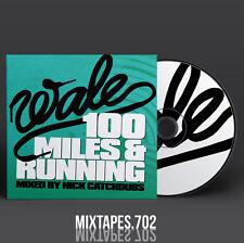 Wale - 100 Miles and Running Mixtape (Full Artwork CD Art/Front/Back Cover)