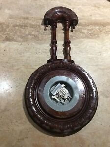 Victorian Teardrop Barometer Case with Movement for Spares Or Repair only