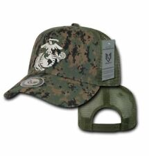 MCU Mesh USMC United States Marine Military Hat Baseball Cap Officially Licensed