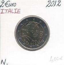 2 Euros - ITALIE - 2012 // Qualité: Neuve