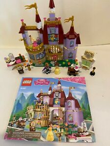 LEGO Disney Princess BELLE'S Enchanted Castle-41067- 99.9% Complete with manual