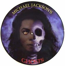 MICHAEL JACKSON LP VINYL - ghosts - LIMITED EDITION PICTURE DISC