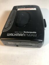 Sony Walkman Wm-Fx12 Fm/Am /Cassette Player tested works
