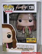 "FUNKO POP TV FIREFLY KAYLEE FRYE #139 HT EXCLUSIVE FIGURE 3 .75"" Sealed IN STOCK"