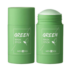Wcjing Green Tea Purifying Clay Face Mask Stick Deep Cleansing Oil Control