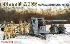 Dragon 6260 1/35<FULL VER w/Metal Barrel>88mm FLAK 36 w/FLAK CREW