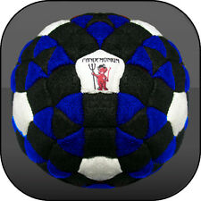 KRAKEN, MONSTER FOOTBAG 152 PANELS SAND & IRON FILLED !!! Hacky sack