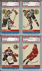 Marcel Pronovost 1954-55 Topps Hockey #27 PSA 8 m/c Detroit Red Wings Card