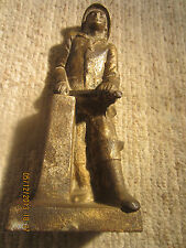 Antique Maritime Cast Iron Helmsman Door Stop