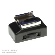 """Cold Shoe Bracket for Mounting Flashgun on Tripod or Stand. Standard 1/4"""" Thread"""