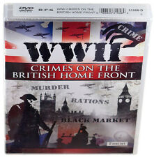 WWII: Crimes on the British Home Front ⚫ (DVD) (New, Sealed) (2011) (2-Disc Set)
