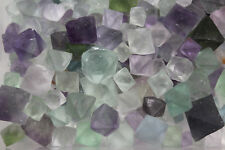 50 gram (1.76 oz) Fluorite Octahedron Healing Reiki Tumbled Rock Stone Gemstone