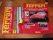 $$$ Fascicules Ferrari La passion N°26 Daytona spiderClay Regazzoni750 Monza