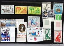 SAINT PIERRE et MIQUELON  lot de timbres NEUF ** vendu sous la faciale L0315