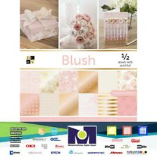 "DCWV®️ Blush Premium Stack Cardstock Paper (48 SHEETS) 12""X12""  PS-016-00037"