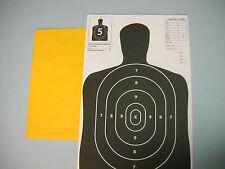 30 B27 Silhouette Hand Gun & Rifle Paper Shooting Targets Paper (11X17)