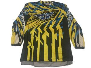 Fly Kinnetic Racing Jersey Mx Motocross Size Large