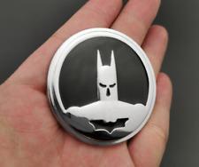 Chrome Metal Batman Logo Dark Knight Mask Car Trunk Emblems Badge Decal Sticker