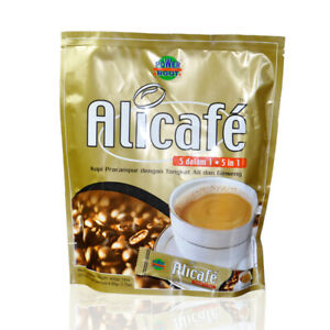Alicafe White Coffee 3 in 1 Premix 20 Satchets x 20g From Malaysia Food HALAL